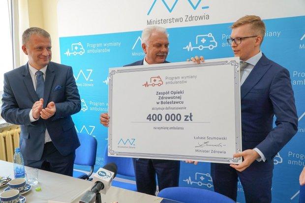 Są pieniądze na nowy ambulans dla szpitala powiatowego