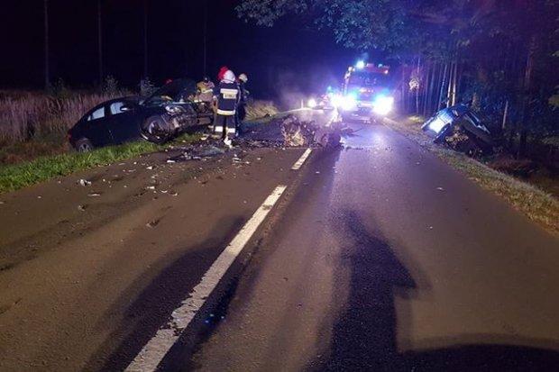 Wypadek między Parową a Osiecznicą