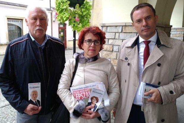 Kandydaci Koalicji Obywatelskiej ponownie w Bolesławcu