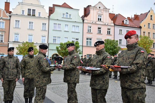Pożegnali żołnierzy wyjeżdżających na misję do Bośni i Hercegowiny