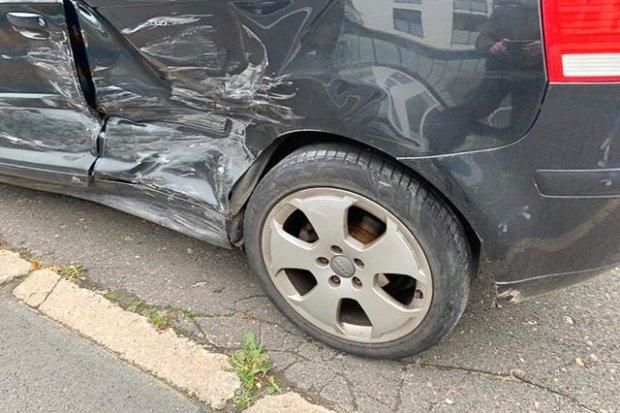 Toyota zderzyła się z audi. 19-latek ranny, sprawczyni z 500-zł mandatem