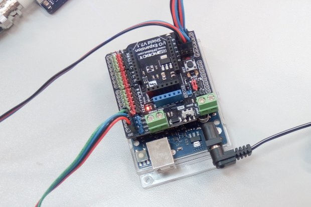 """Uczniowie """"Elektronika"""" budują… podwodnego robota"""
