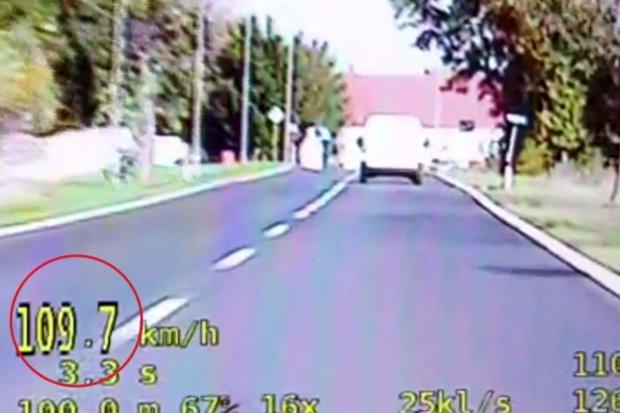 22-latka zasuwała w terenie zabudowanym 109 km/h. Straciła prawo jazdy