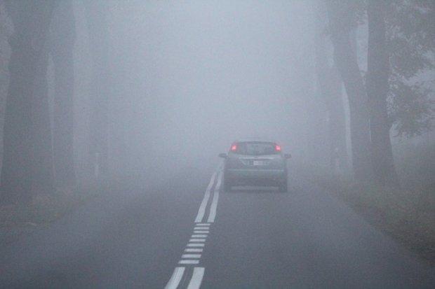 Uwaga, gęsta mgła