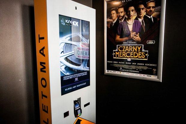 Bezobsługowy kiosk do sprzedaży biletów w CIK Orzeł