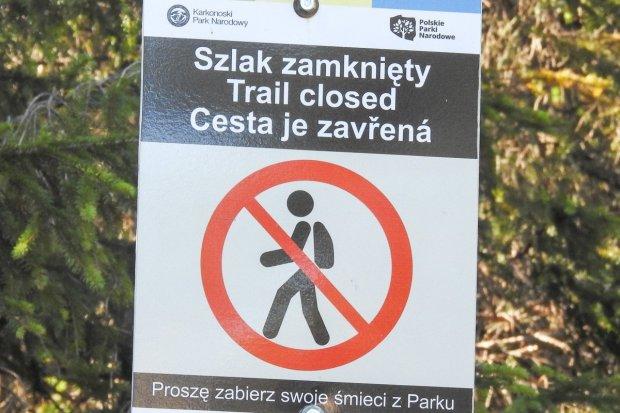 Uwaga! KPN zamyka szlaki przy Szklarce i Kamiennej