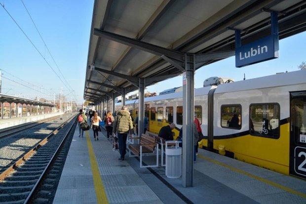 Od grudnia pociągiem pod sam stadion Zagłębia