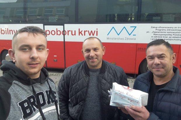Strażacy z Nowogrodźca oddali krew