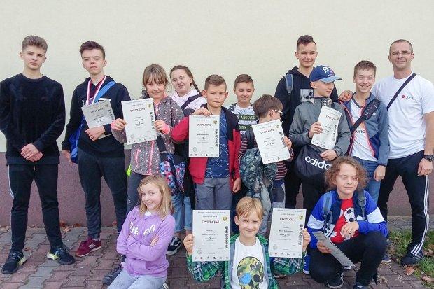 Bolesławieccy karatecy z 13 medalami Lubin Cup