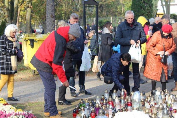 Tłumy na bolesławieckim cmentarzu