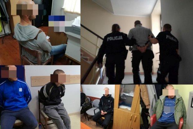 10 notorycznych przestępców wpadło w ręce policji. 8 trafiło prosto do paki