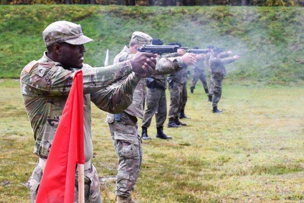 Artylerzyści i żołnierze US Army rywalizowali o Puchar Dowódcy