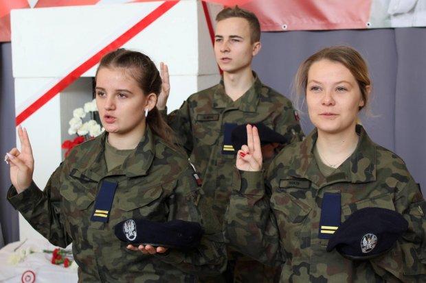 Młodzi mundurowi ślubowali