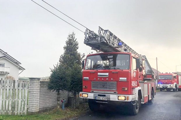 Akcja straży w Milikowie