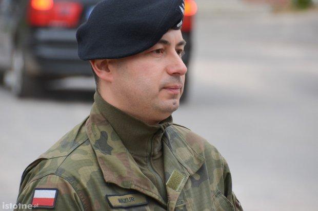 Szef patrolu saperskiego uhonorowany medalem