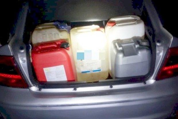 32-latek zatrzymany w trakcie kradzieży paliwa z ciężarówki