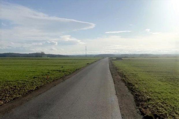 Nowogrodziec–Milików: droga dojazdowa przebudowana