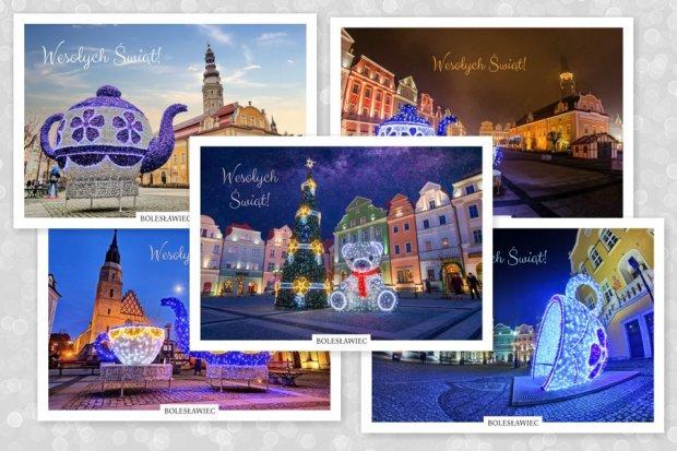 Przepiękne świąteczne pocztówki z Bolesławca już do kupienia!