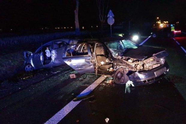 Groźny wypadek na DK30, cztery osoby ranne. Sprawca był po alkoholu i narkotykach
