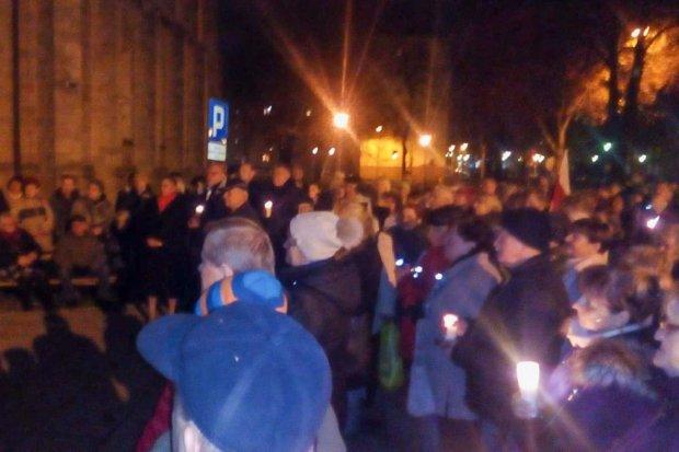 Bolesławianie protestowali przed Sądem Rejonowym