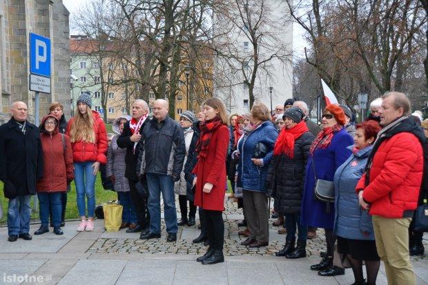 Bolesławianie ponownie protestowali przed Sądem Rejonowym