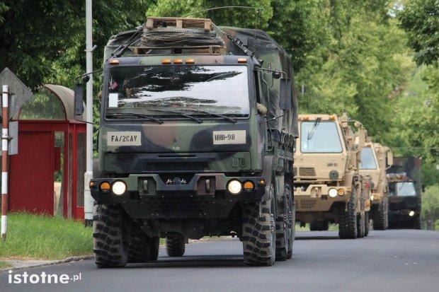 Pojazdy US Army nie pojadą przez centrum Bolesławca