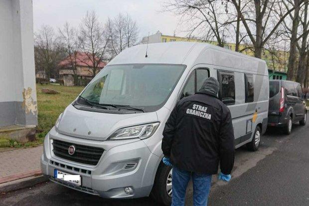 Skradziony w Niemczech kamper odzyskany w Bolesławcu. Wartość auta to 160 tys. zł
