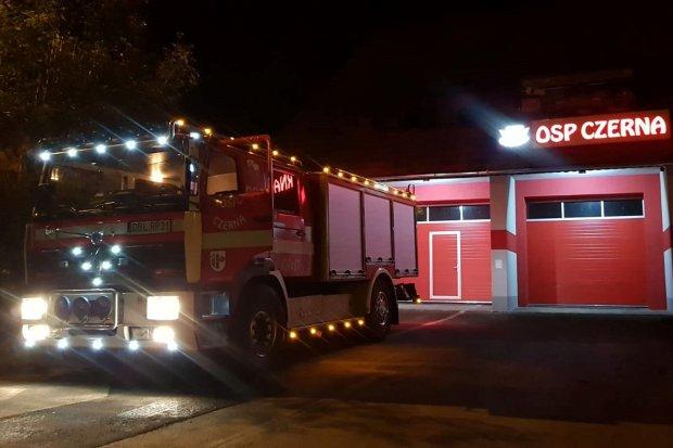 Strażacy z Czernej podsumowali ubiegły rok