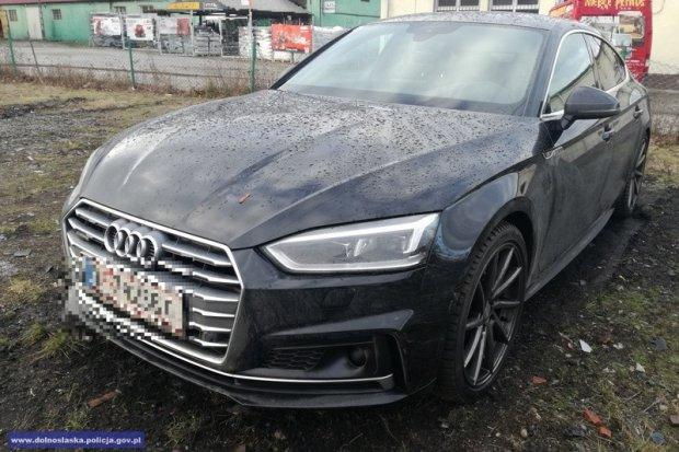 Odzyskali skradzione w Austrii audi. Wartość pojazdu to 150 tys. zł