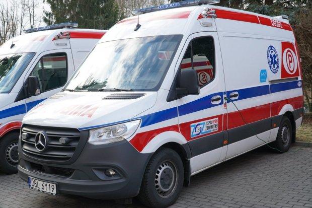Dwie nowe karetki w bolesławieckim szpitalu powiatowym