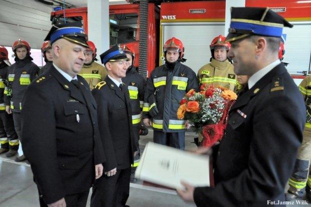 Pożegnali dwóch bolesławieckich strażaków