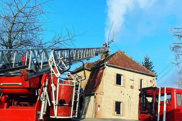 Pożar w Gościszowie