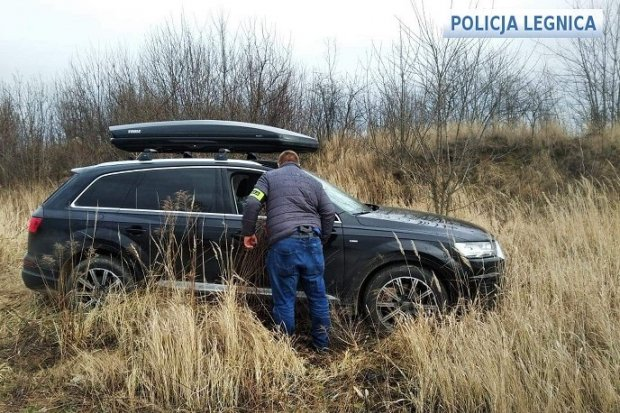 Odzyskali skradzione audi warte 300 tys. zł