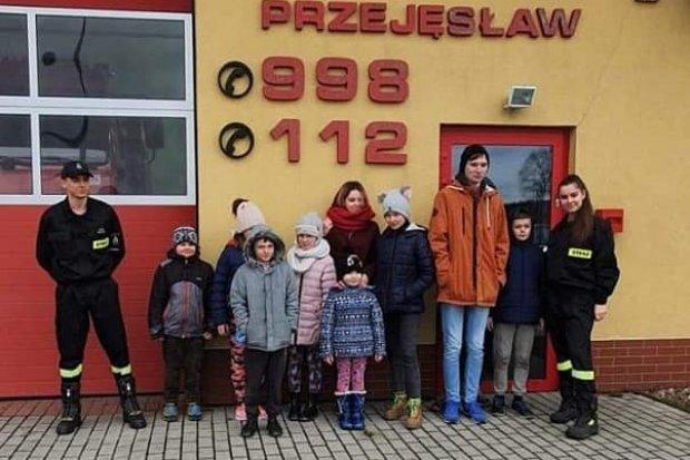 Dzieci opanowały siedzibę strażaków z Przejęsławia