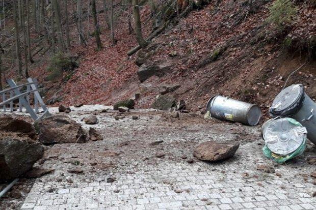 KPN: szlak do Wodospadu Szklarki zamknięty
