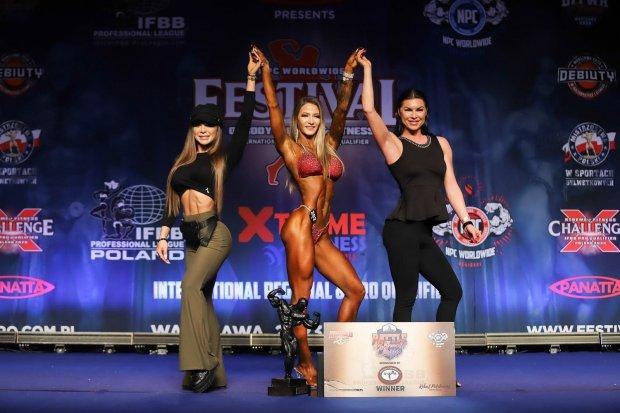 Bolesławianka z 3 medalami na Międzynarodowym Festiwalu Sportów Sylwetkowych!