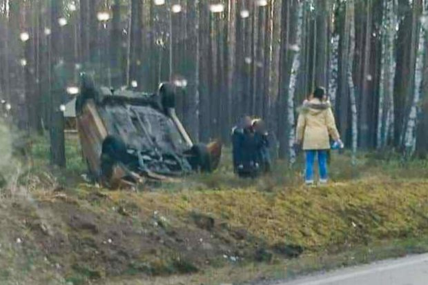 Auto dachowało koło Osieczowa