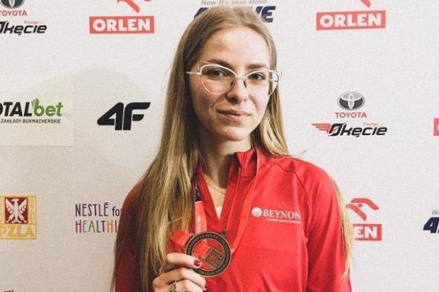 Marcelina Drozdek na podium mistrzostw Polski!