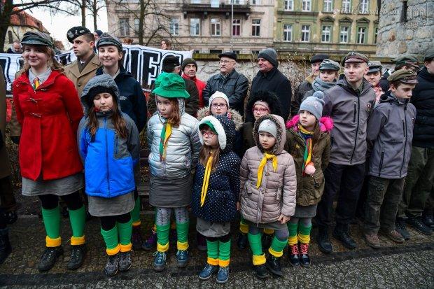 """""""Żyli prawem wilka"""". Bolesławianie uczcili pamięć Żołnierzy Wyklętych"""