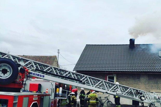 Pożar w Kraszowicach