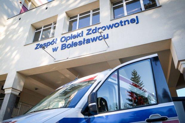 Leśnicy z Dolnego Śląska przekazali 10 tys. na konto szpitala w Bolesławcu