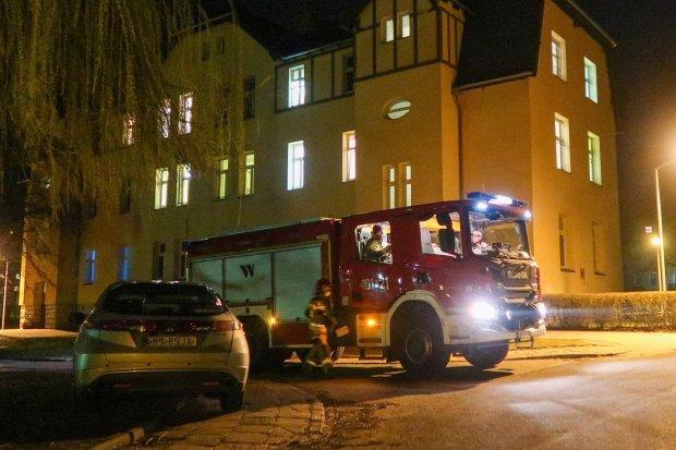 Zgłoszenie podłożenia bomby w szpitalu psychiatrycznym