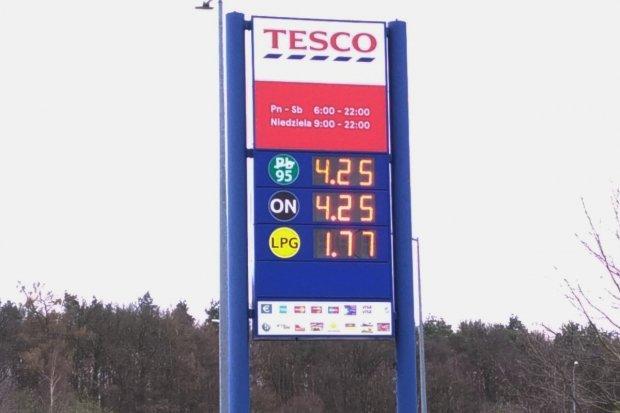 Ceny paliw najniższe od kilku lat