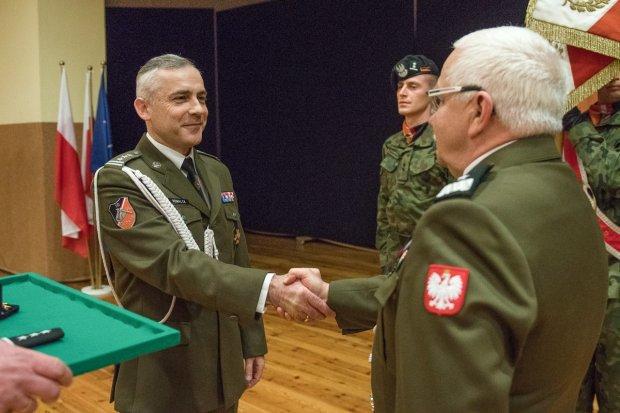 Nowy dowódca 10 Brygady Kawalerii Pancernej