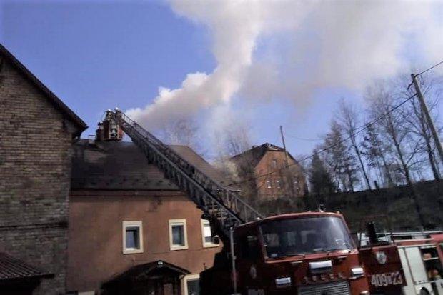 Pożar w Milikowie