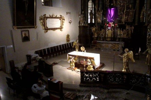 NA ŻYWO: Transmisja z Bazyliki Maryjnej