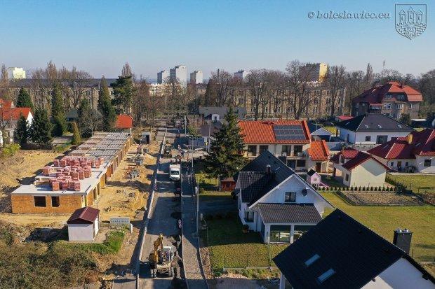 Budowa ulicy Jagiellonów