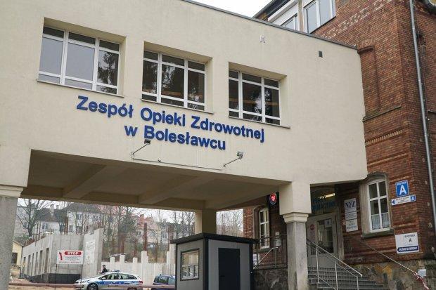 Sytuacja w szpitalu: zgon 67-latka, 81 pacjentów z koronawirusem