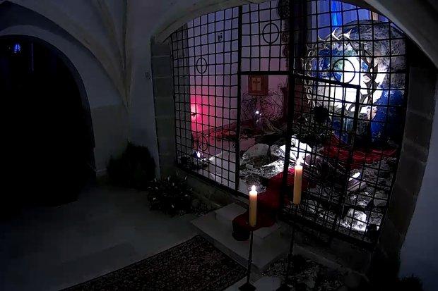 Nocne czuwanie w Bazylice Maryjnej