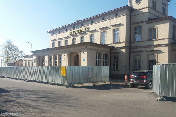 Ruszył remont dworca PKP w Bolesławcu